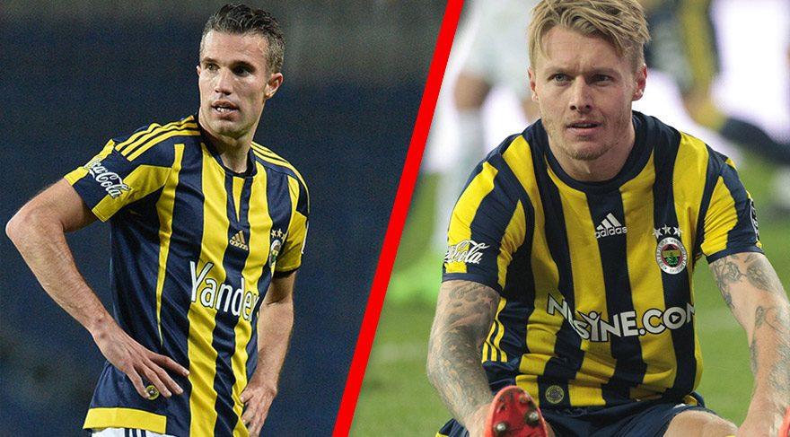 Fenerbahçe'nin Kjaer ile Van Persie planı!