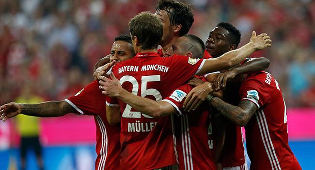 Bayern farkl� ba�lad�
