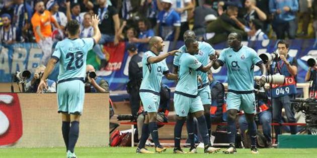 Porto deplasmanda Monaco'yu yıktı
