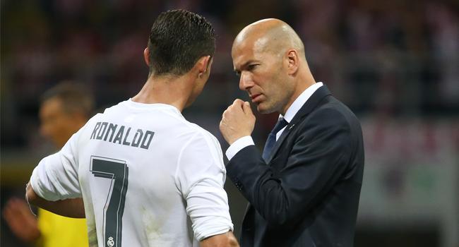 Zidane'dan Ronaldo a��klamas�