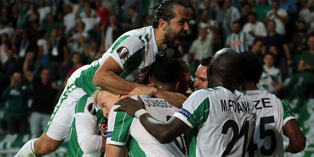 Konyaspor, Avrupa'da siftah yaptı