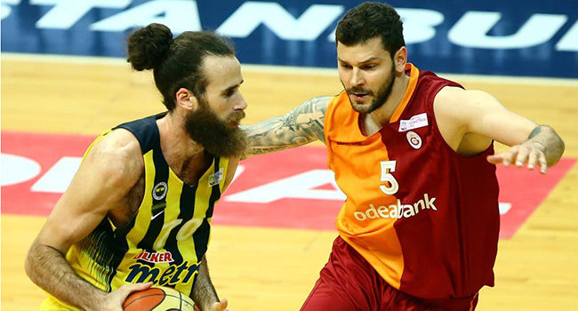 Euroleague'de Galatasaray- Fenerbah�e derbisi