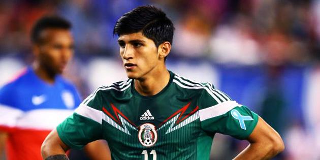 Meksikal� milli futbolcu ka��r�ld�!
