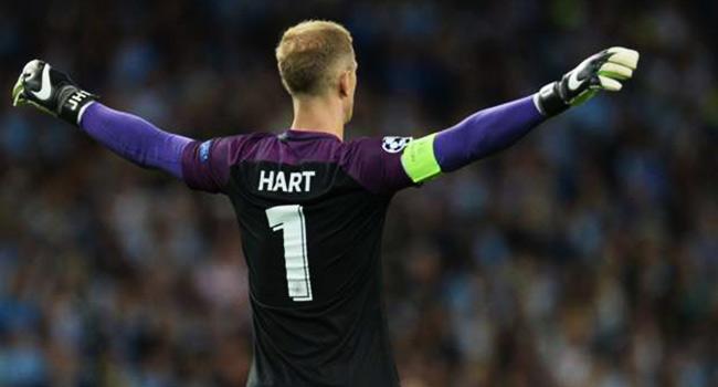 Manchester City'nin kalecisi Joe Hart, Torino'da