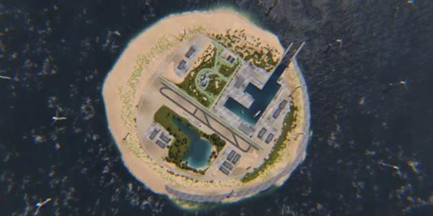 Hollanda Kuzey Denizi'nde rüzgar çiftliği adası yapacak