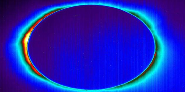 NASA tam Güneş tutulmasının kızılötesi karelerini yayınladı