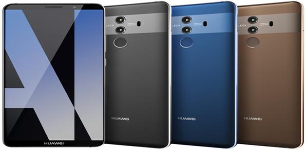 Huawei Mate 10 Pro canlı görüntülendi