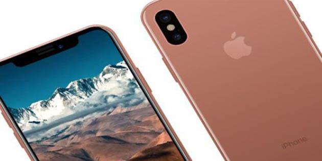 iPhone 8 yeni rengi ile şaşırtıyor!