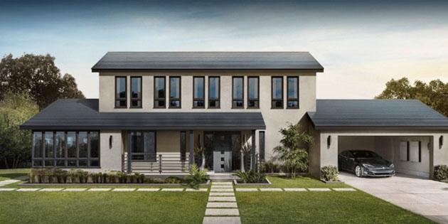 Tesla, güneş enerjili kiremitlerin üretimine başladı