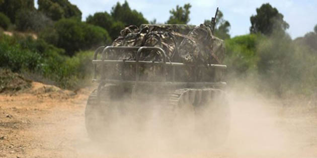 İsrail ordusunda robot desteği