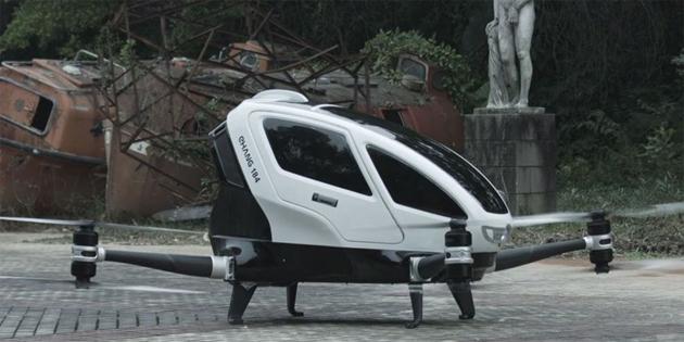 ''Drone''lar insan taşımaya başlıyor
