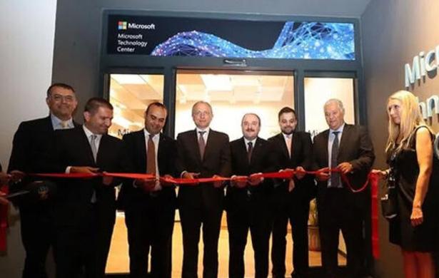 Microsoft Teknoloji Merkezi İstanbul'da kapılarını açtı