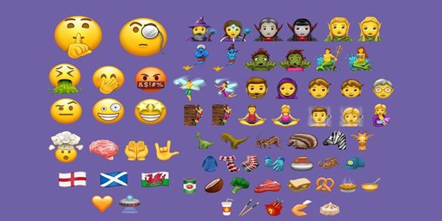 İşte akıllı telefonlara gelecek yeni emoji'ler