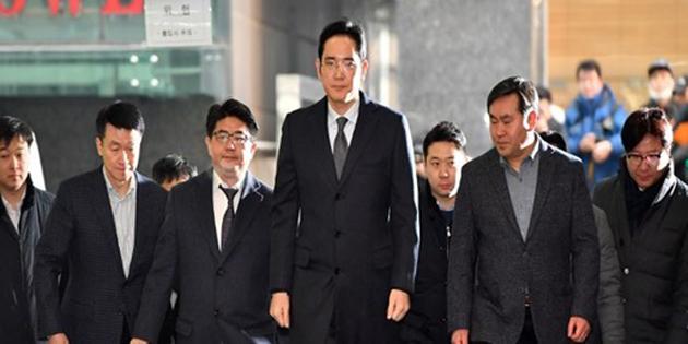 Samsung'un veliahtına 5 yıl hapis cezası